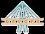 Devops-Schriftzug als Brücke